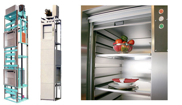 thang máy tải hàng thực phẩm