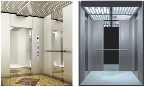 Thang máy chở khách - Mẫu thang máy chở khách DPE – 026 KR và 12KR