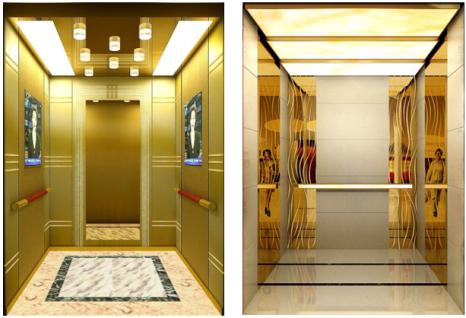 Thang máy tải khách - Mẫu thang máy tải khách DPE GOLD – 22 KR và 17KR