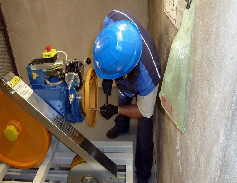 tiêu chuẩn bảo trì thang máy