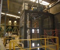 Công dụng của thang máy tải hàng thang tời hàng