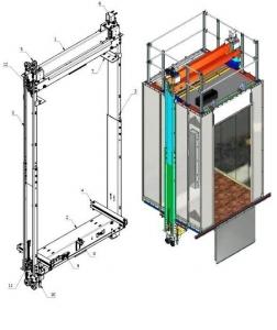 Kích thước hố thang máy gia đình như thế nào phù hợp